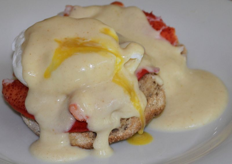 Lobster Eggs Benedict Naughty or Nice - StyleNectar