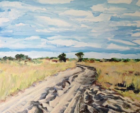 Sandy highway