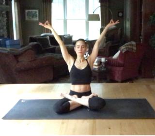 Yogaselfie